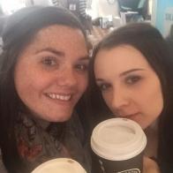 Quick coffee break before the Peterborough signing